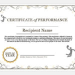 Basketball Certificate Wording & Templates | Formal Word Regarding Sportsmanship Certificate Template