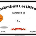 Basketball Certificates | Basketball Awards, Basketball with Basketball Certificate Templates
