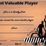 Basketball Mvp Certificate | Certificate Templates, Sports For Unique Basketball Mvp Certificate Template
