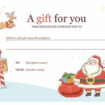 Best 25+ Gift Certificate Template Word Ideas On Pinterest Regarding Free Christmas Gift Certificate Templates