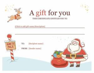 Best 25+ Gift Certificate Template Word Ideas On Pinterest regarding Free Christmas Gift Certificate Templates