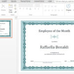 Best Certificate Templates For Powerpoint With Best Award Certificate Template Powerpoint