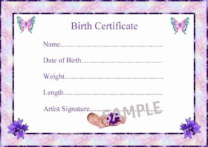 Birth Certificate Template Google Docs Lovely Birth for Rabbit Birth Certificate Template Free 2019 Designs