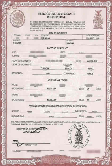 Birth Certificate Translation Services For Uscis, Fast And Cheap pertaining to Unique Uscis Birth Certificate Translation Template