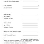 Birth Certificate Translation Template Uscis (2) – Templates Inside Birth Certificate Translation Template English To Spanish