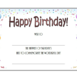 Birthday Gift Certificate Template Free Printable 2 | Free In Birthday Gift Certificate Template Free 7 Ideas