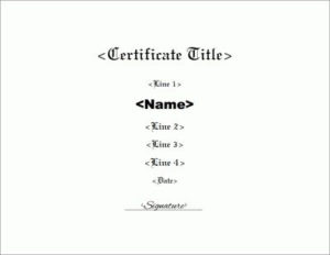 Blank Borderless Certificate Template Within Borderless Inside New Borderless Certificate Templates