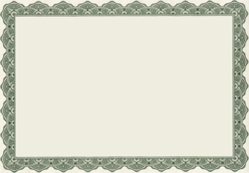 Blank Certificate Templates Border | Certificate Border regarding Free Printable Certificate Border Templates