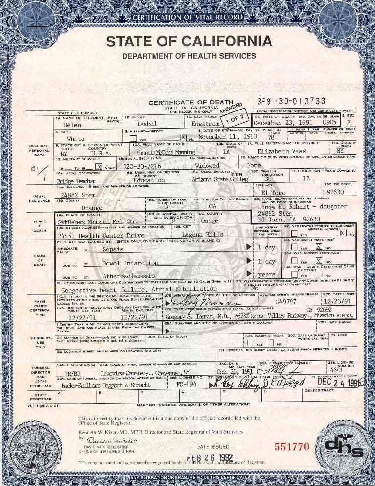 Blank Death Certificates Templates | | Fake Birth regarding Unique Baby Death Certificate Template