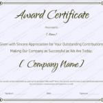 Blank Retirement Certificate Template – Editable And Printable For Blank Award Certificate Templates Word
