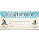 Body Art & Tattoo Artist Gift Certificate Template Design Throughout Fresh Tattoo Gift Certificate Template