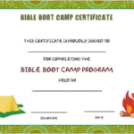 Boot Camp Certificate Template (7) – Templates Example With Boot Camp Certificate Template