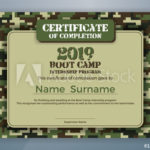 Boot Camp Internship Program Certificate Template Design Pertaining To Boot Camp Certificate Template