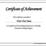 Borderless Certificate Templates (7) – Templates Example Pertaining To Borderless Certificate Templates