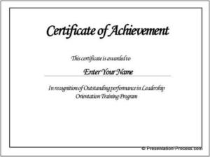 Borderless Certificate Templates (7) – Templates Example Pertaining To Borderless Certificate Templates