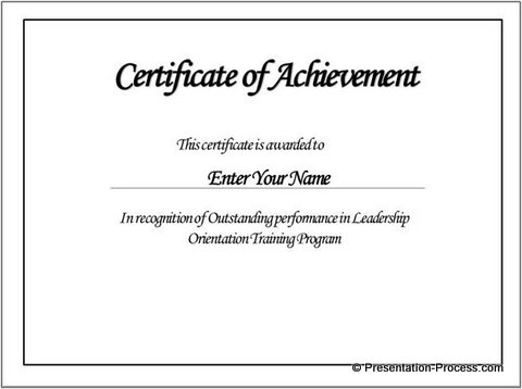 Borderless Certificate Templates (7) - Templates Example pertaining to Borderless Certificate Templates