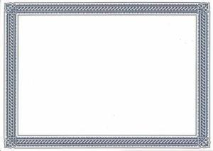 Borderless Certificate Templates | Certificate Border, Free With New Borderless Certificate Templates
