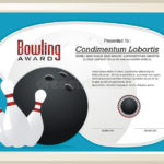 Bowling Certificate Stock Illustrations – 79 Bowling Within Bowling Certificate Template
