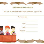 Cake Competition Certificates   Cake Competition, Recipe With Regard To Bake Off Certificate Template
