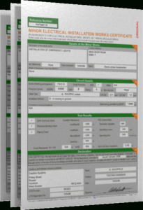 Castline Systems – Official Home Page throughout Electrical Minor Works Certificate Template