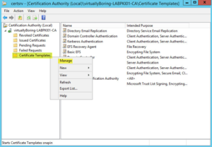 Certificate Authority Templates In 2020 | Certificate inside Fresh Active Directory Certificate Templates