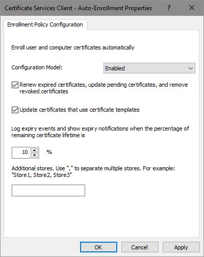 Certificate Autoenrollment In Windows Server 2016 (Part 3 inside Quality No Certificate Templates Could Be Found