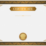 Certificate Background Design Certificate Certificate intended for High Resolution Certificate Template