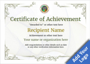 Certificate Of Achievement – Free Templates Easy To Use regarding Certificate Of Attainment Template
