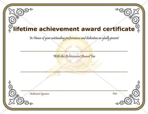 Certificate Of Achievement Template Awarded For Different intended for Fresh Outstanding Effort Certificate Template