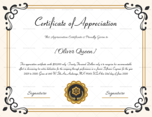Certificate Of Appreciation For Employee – Microsoft Word in Template For Certificate Of Appreciation In Microsoft Word