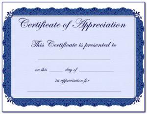 Certificate Of Appreciation Templates Editable | Vincegray2014 for Unique Editable Certificate Of Appreciation Templates