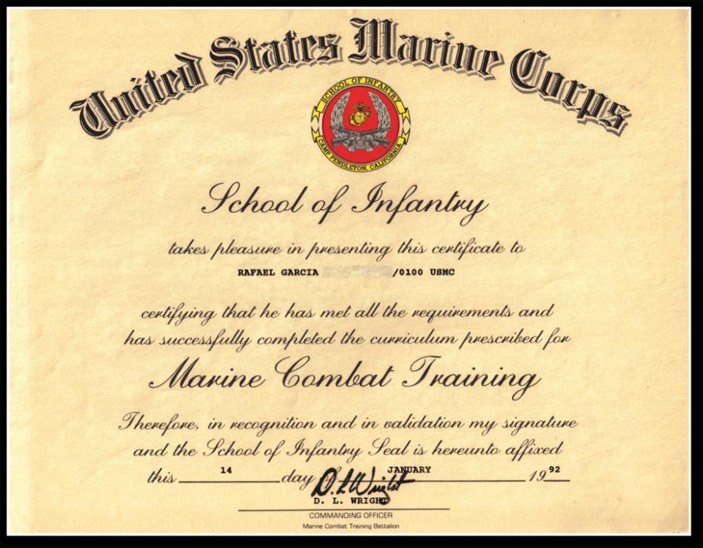 Certificate Of Appreciation Usmc Sansurabionetassociats with Certificate Of School Promotion 10 Template Ideas