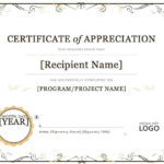 Certificate Of Appreciation Word Template  | Certificate Of Intended For Certificate Of Recognition Template Word