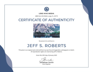 Certificate Of Authenticity: Templates, Design Tips, Fake in New Certificate Of Authenticity Free Template