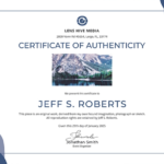 Certificate Of Authenticity: Templates, Design Tips, Fake With Regard To Photography Certificate Of Authenticity Template