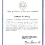 Certificate Of Authorization Template | Certificate Pertaining To Certificate Of Authorization Template
