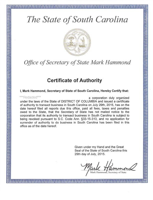 Certificate Of Authorization Template   Certificate pertaining to Certificate Of Authorization Template