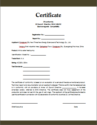 Certificate Of Compliance Template (3) - Templates Example inside Best Certificate Of Conformity Template