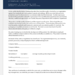 Certificate Of Conformity Template For Word | Word & Excel within Certificate Of Conformity Template