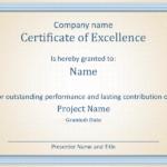 Certificate Of Employee Excellence Regarding New Certificate Of Employment Templates Free 9 Designs