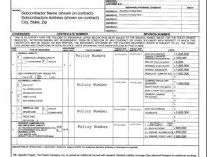 Certificate Of Insurance | Safeguard Insurance In Las Vegas for Certificate Of Liability Insurance Template