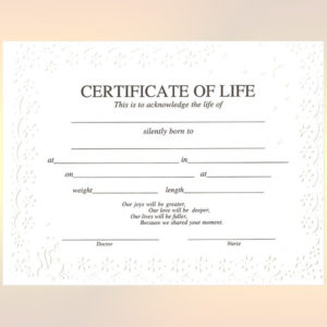 Certificate Of Life | Baby Death, Death Certificate intended for New Fake Death Certificate Template
