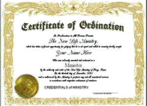 Certificate Of Ordination Template (2) - Templates Example for Certificate Of Ordination Template