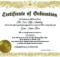 Certificate Of Ordination Template (2) - Templates Example for Certificate Of Ordination Template