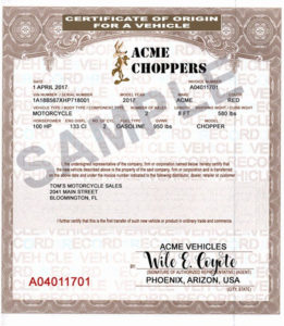 Certificate Of Origin For A Vehicle Template Awesome within Certificate Of Origin For A Vehicle Template