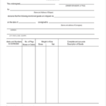 Certificate Of Origin Form Template (5) – Templates Example Pertaining To Unique Certificate Of Origin Template Ideas Free