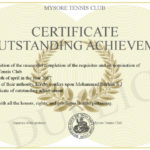 Certificate Of Outstanding Achievement Regarding New Outstanding Achievement Certificate