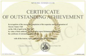 Certificate-Of-Outstanding-Achievement regarding New Outstanding Achievement Certificate