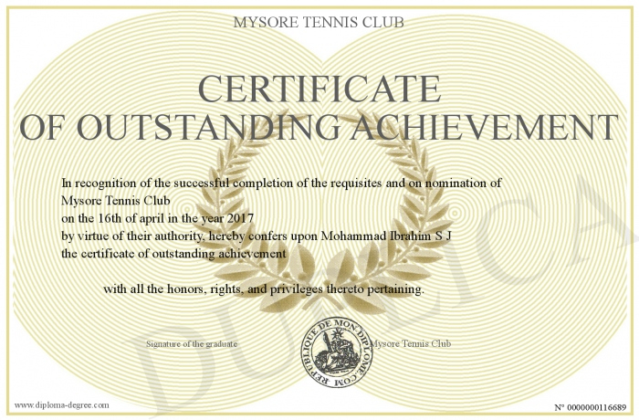 Certificate-Of-Outstanding-Achievement regarding New Outstanding Achievement Certificate