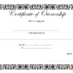 Certificate Of Ownership Of Property Free Printable 1 Intended For Download Ownership Certificate Templates Editable